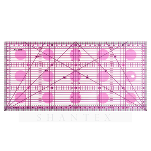 15 * 30 cm Rectangle Patchwork Quilting Règle Promotionnelle Matériau Acrylique Règle de Couture
